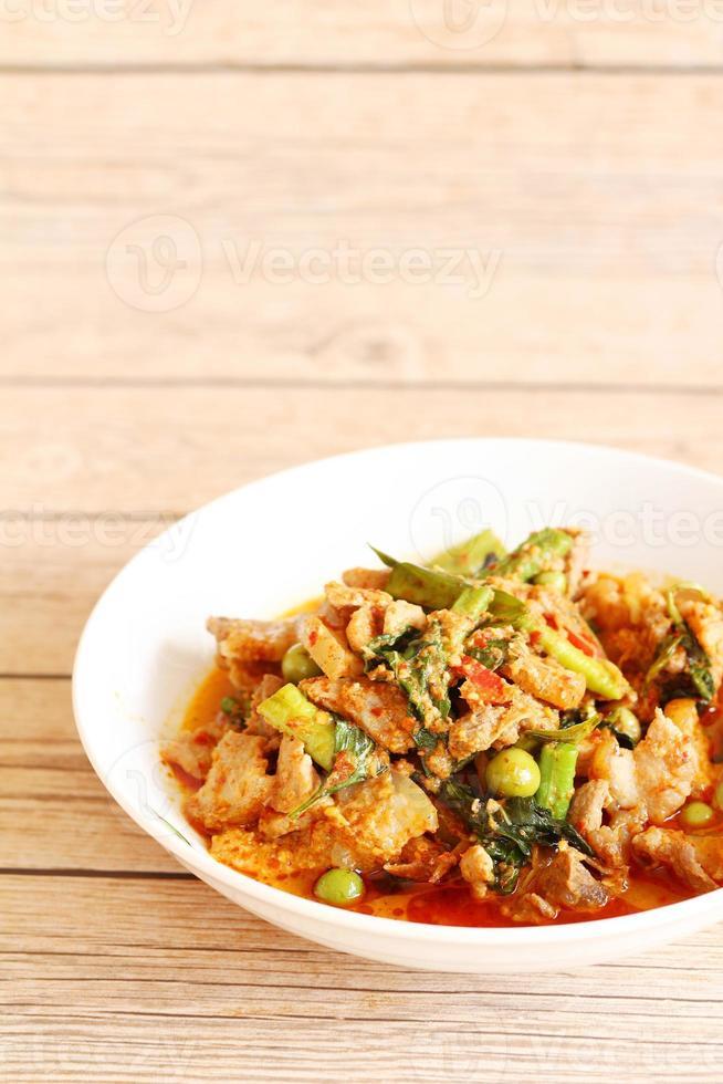 curry di maiale foto