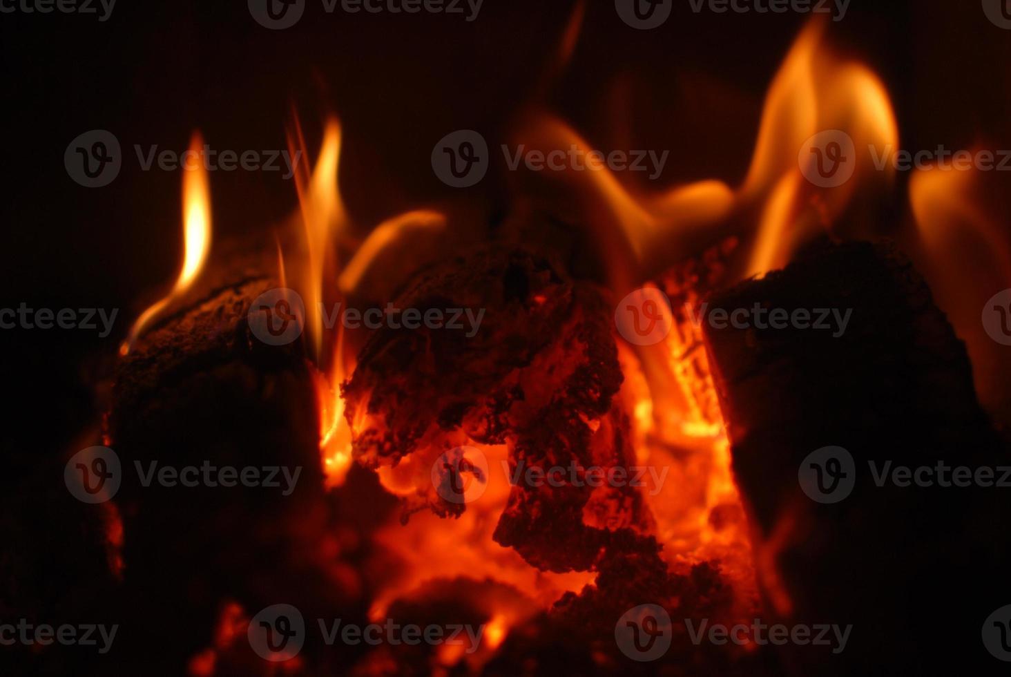 Flammen foto