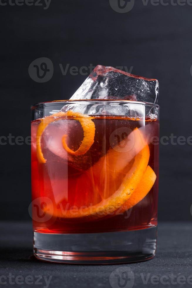 cocktail vecchio stile foto