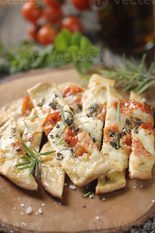 pizza sale marino foto