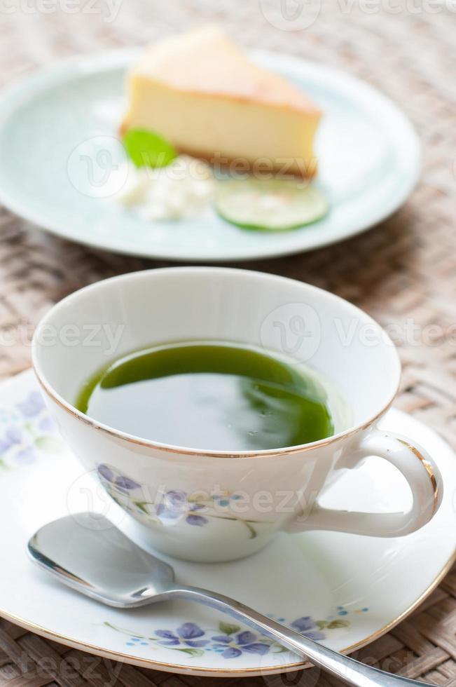 l'ora del tè, il tè del pomeriggio foto