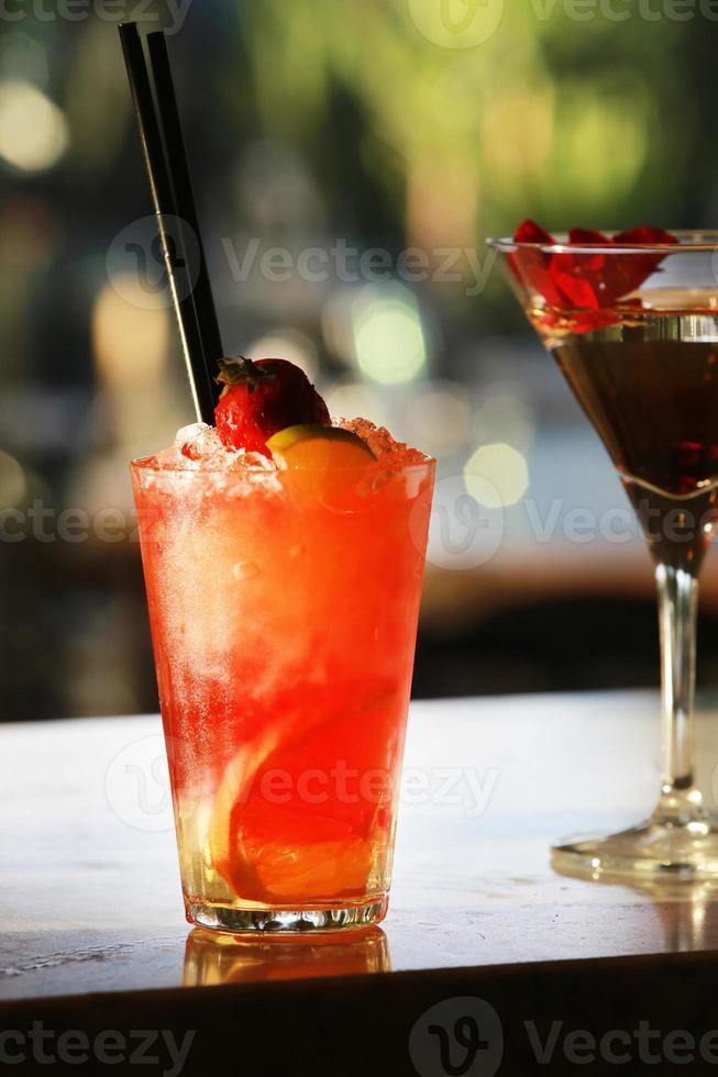 cocktail all'arancia foto