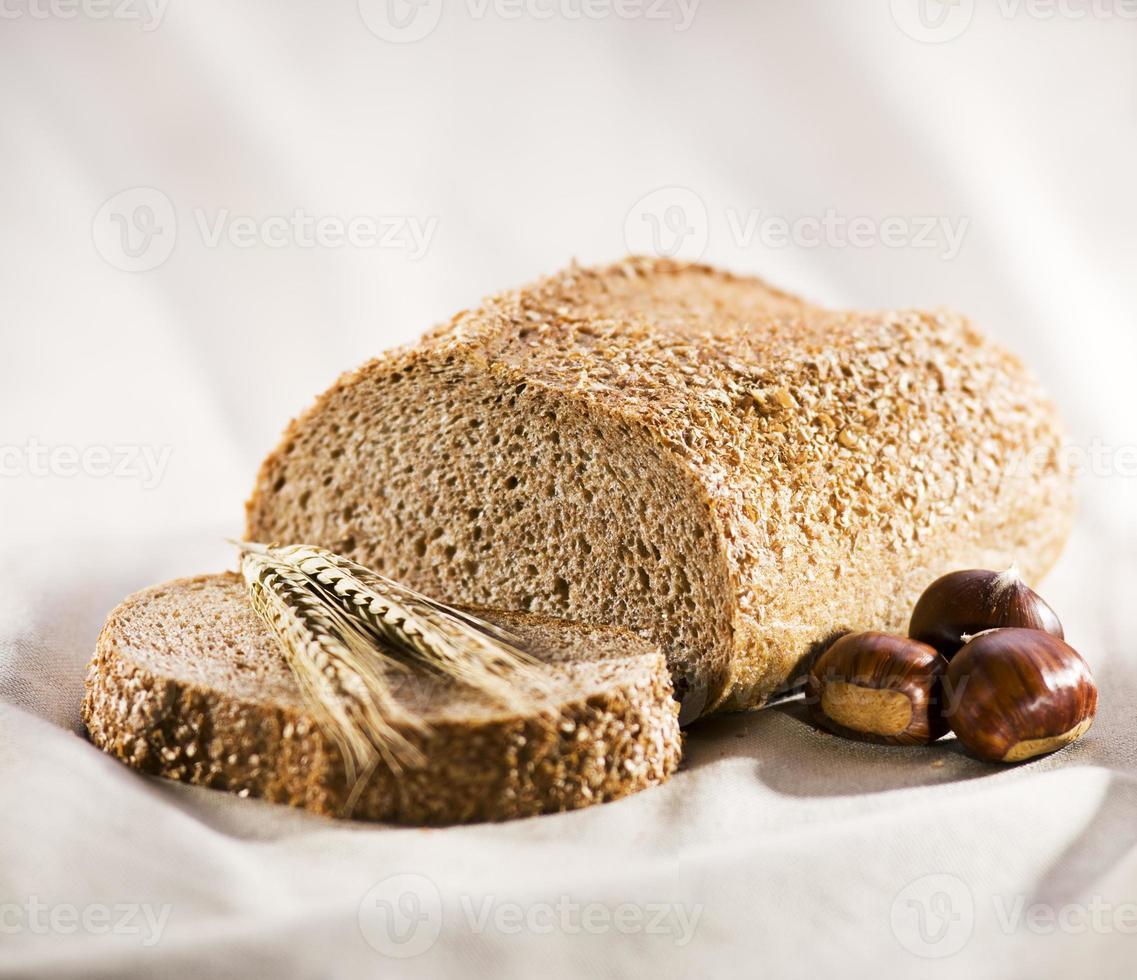 pane di castagne foto