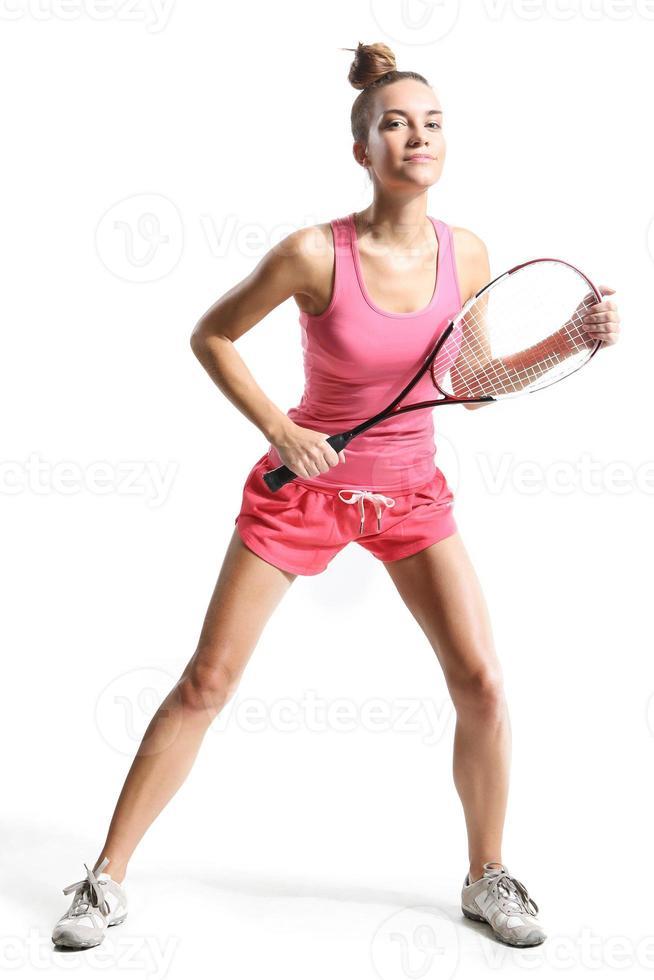 giocare a squash foto
