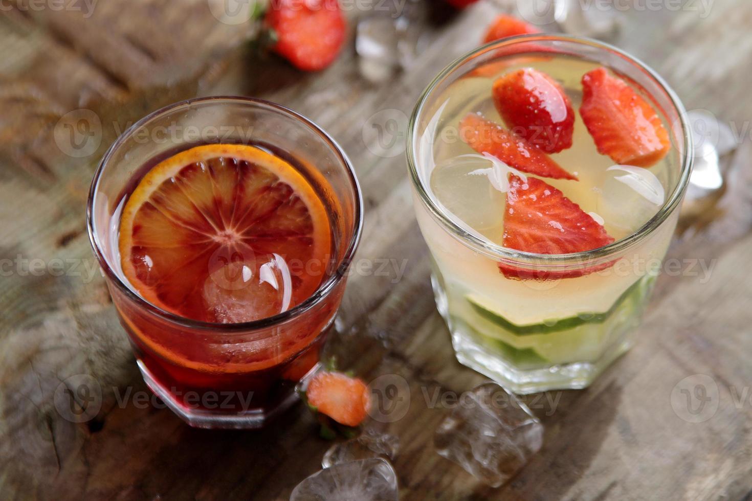 diverso cocktail fresco foto