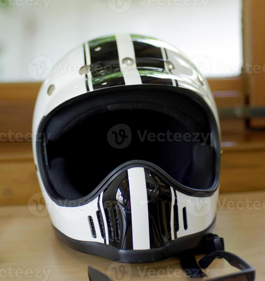 casco per moto foto