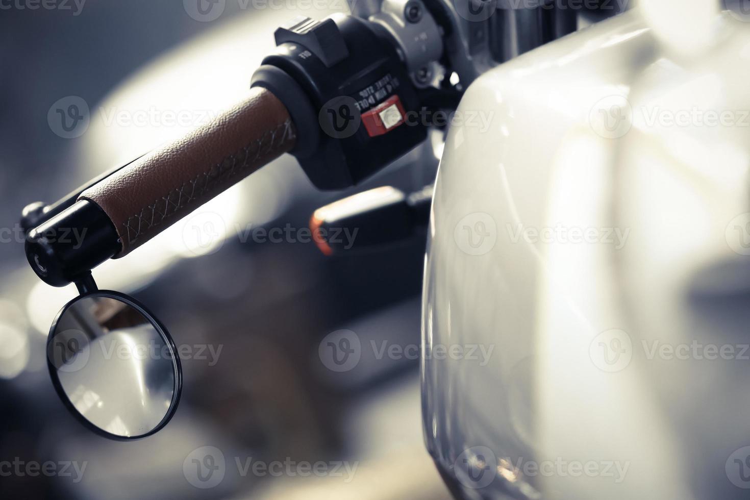 specchio per moto foto