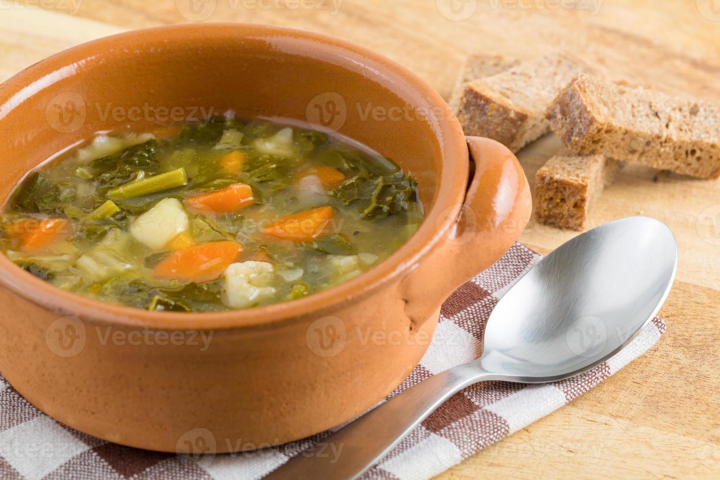 zuppa calda foto
