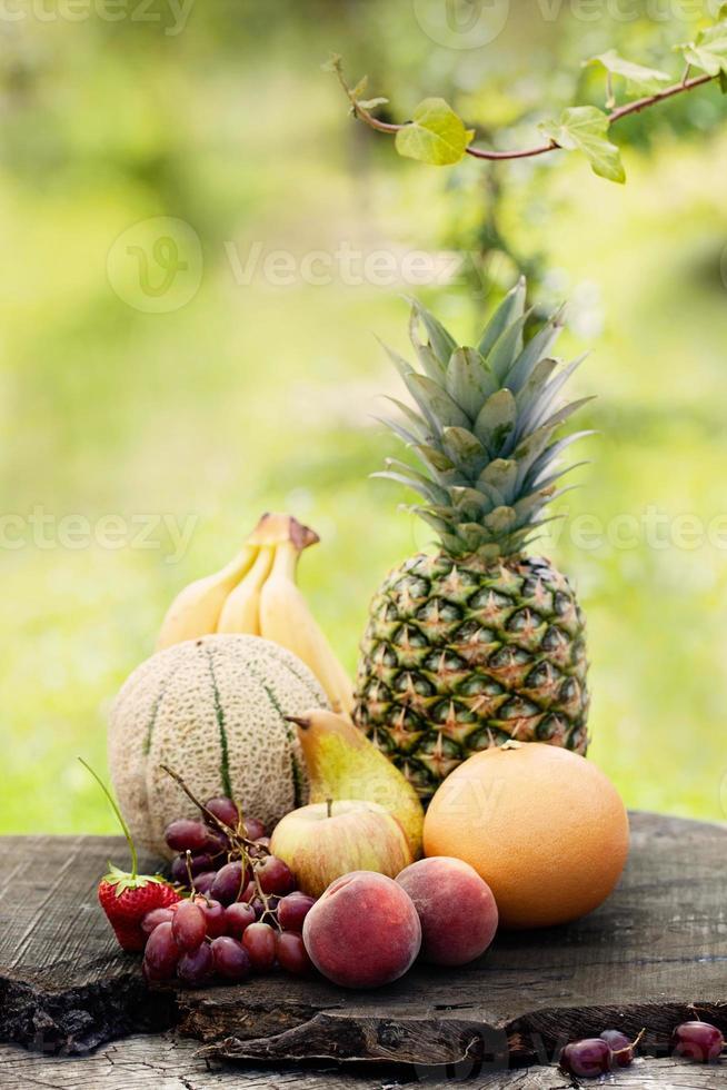 varietà di frutta foto