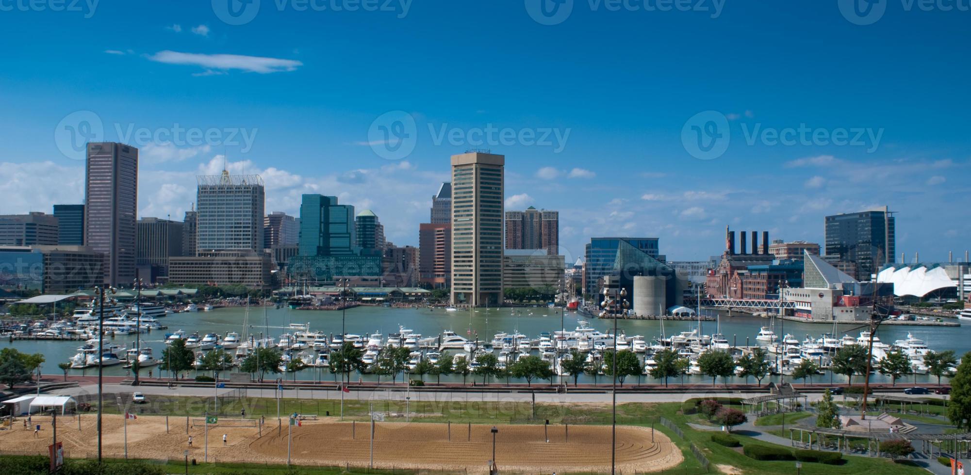 porto interno di Baltimora foto