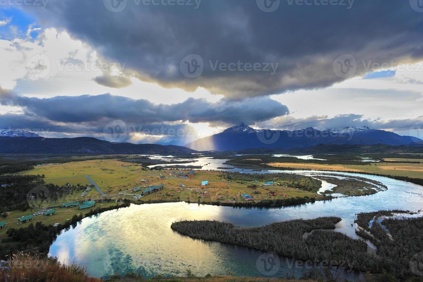 valle del fiume serrano foto