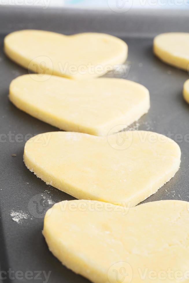 biscotti al cuore foto
