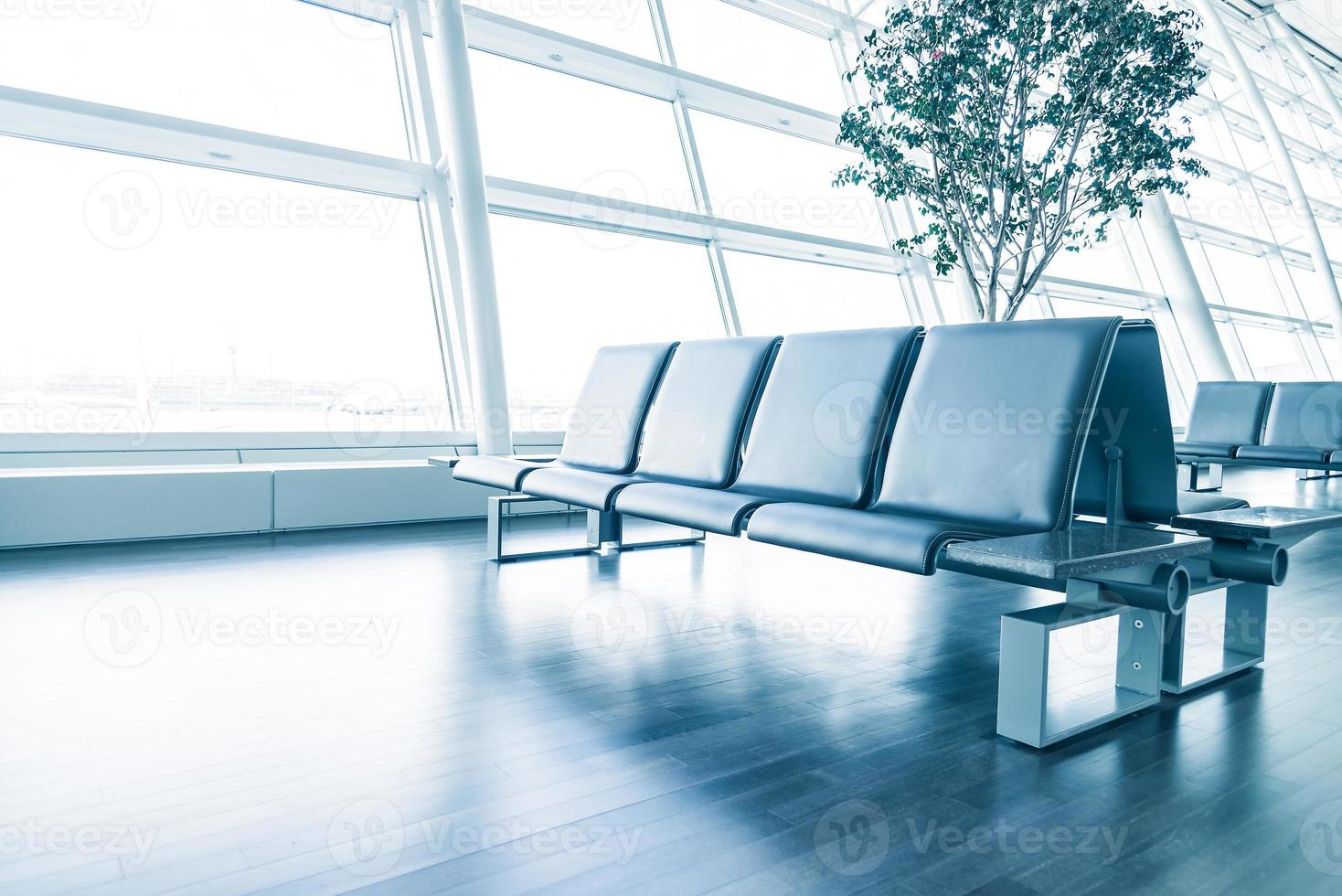 posto vuoto in aeroporto foto