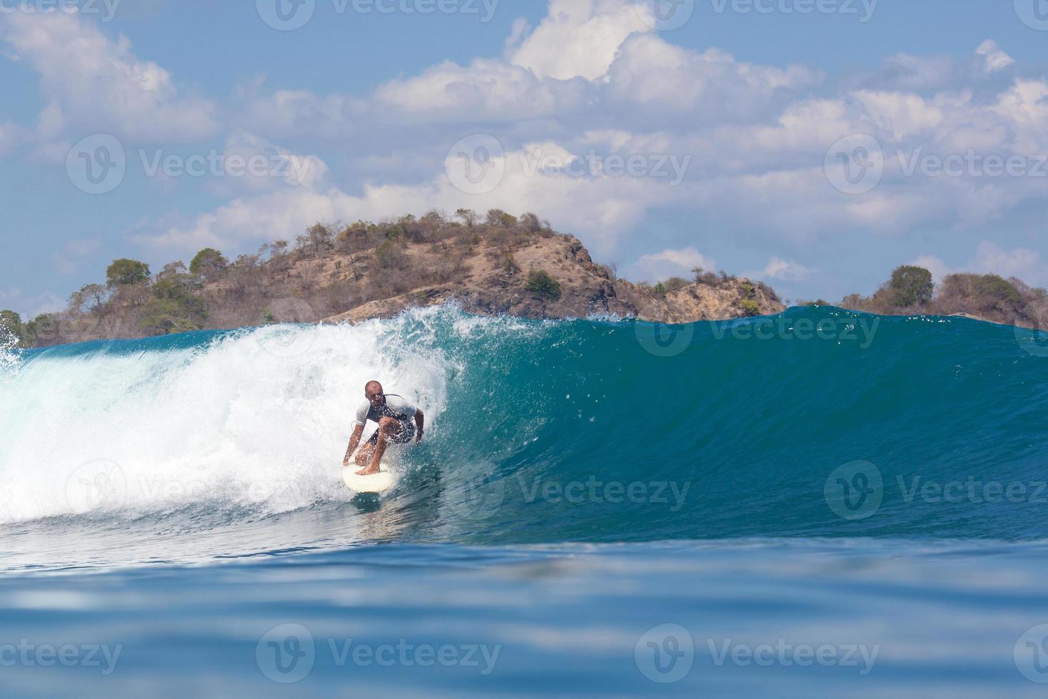 navigare un'onda. foto