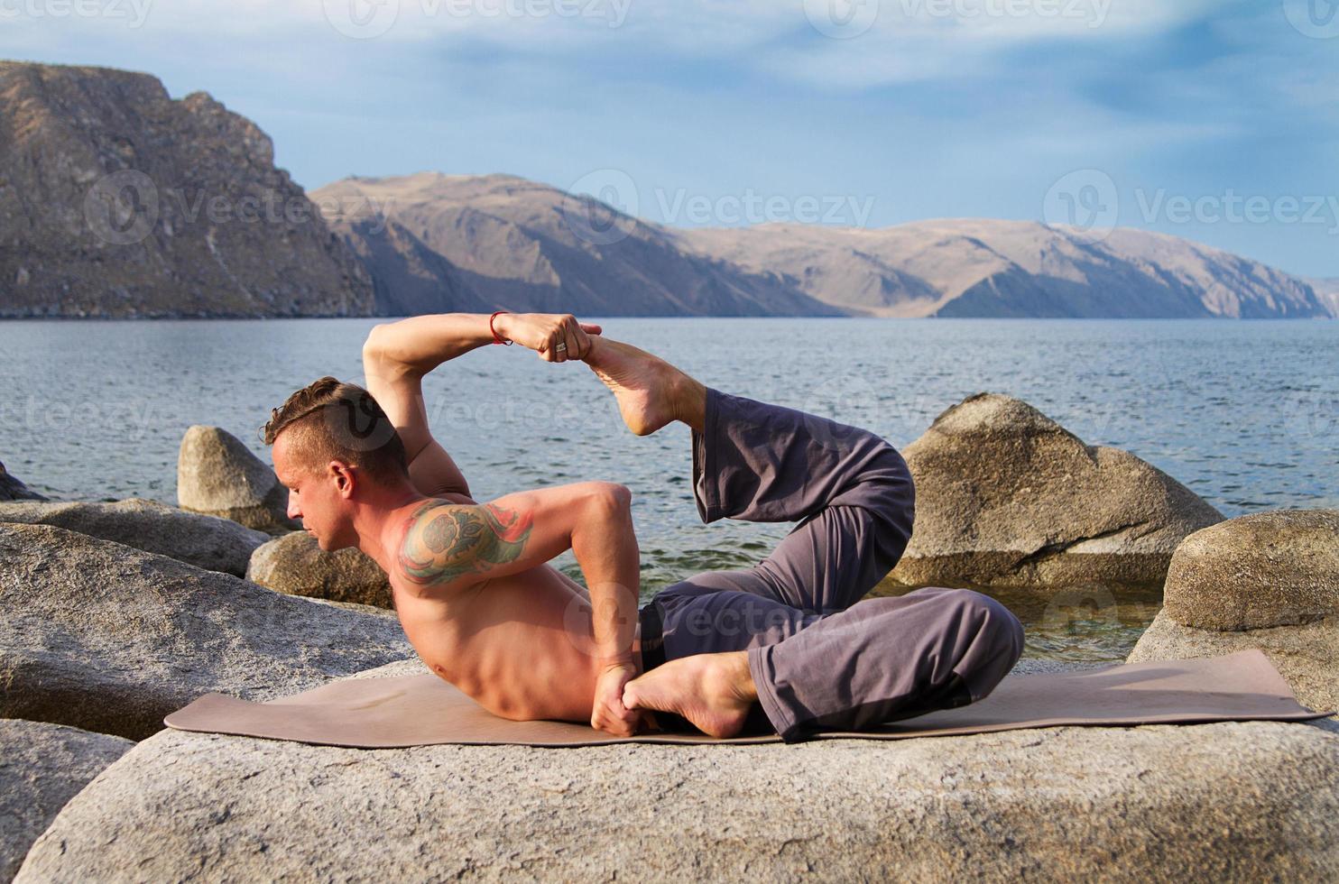 yoga e ginnastica foto
