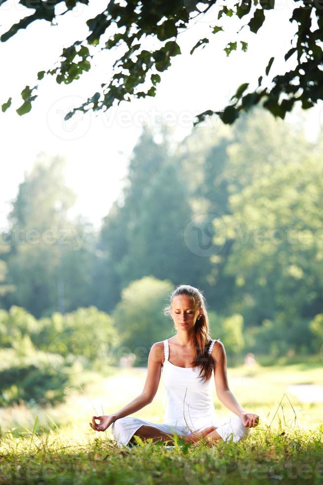 yoga del loto foto