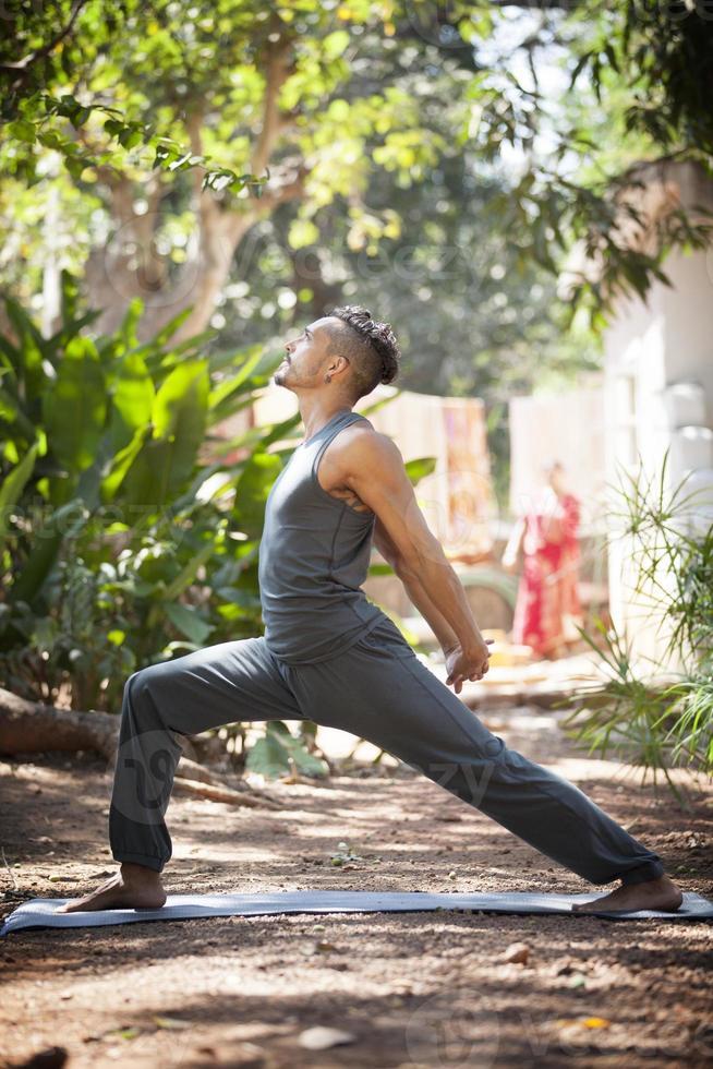 yoga in natura. foto