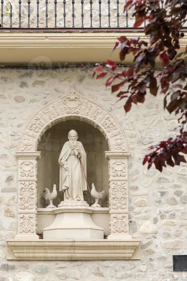statua di santo domingo de la calzada. foto