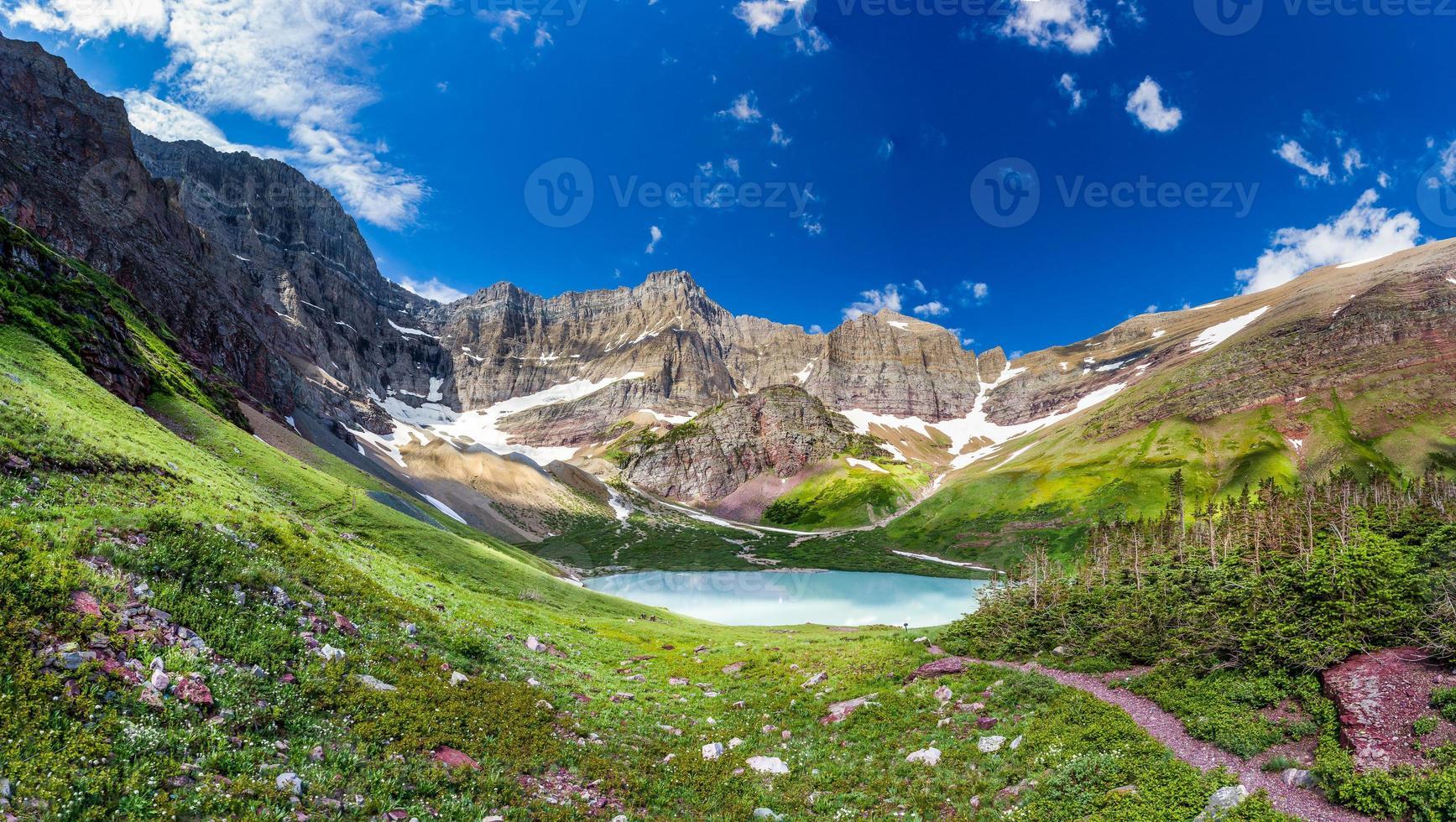campeggio sul lago cracker foto