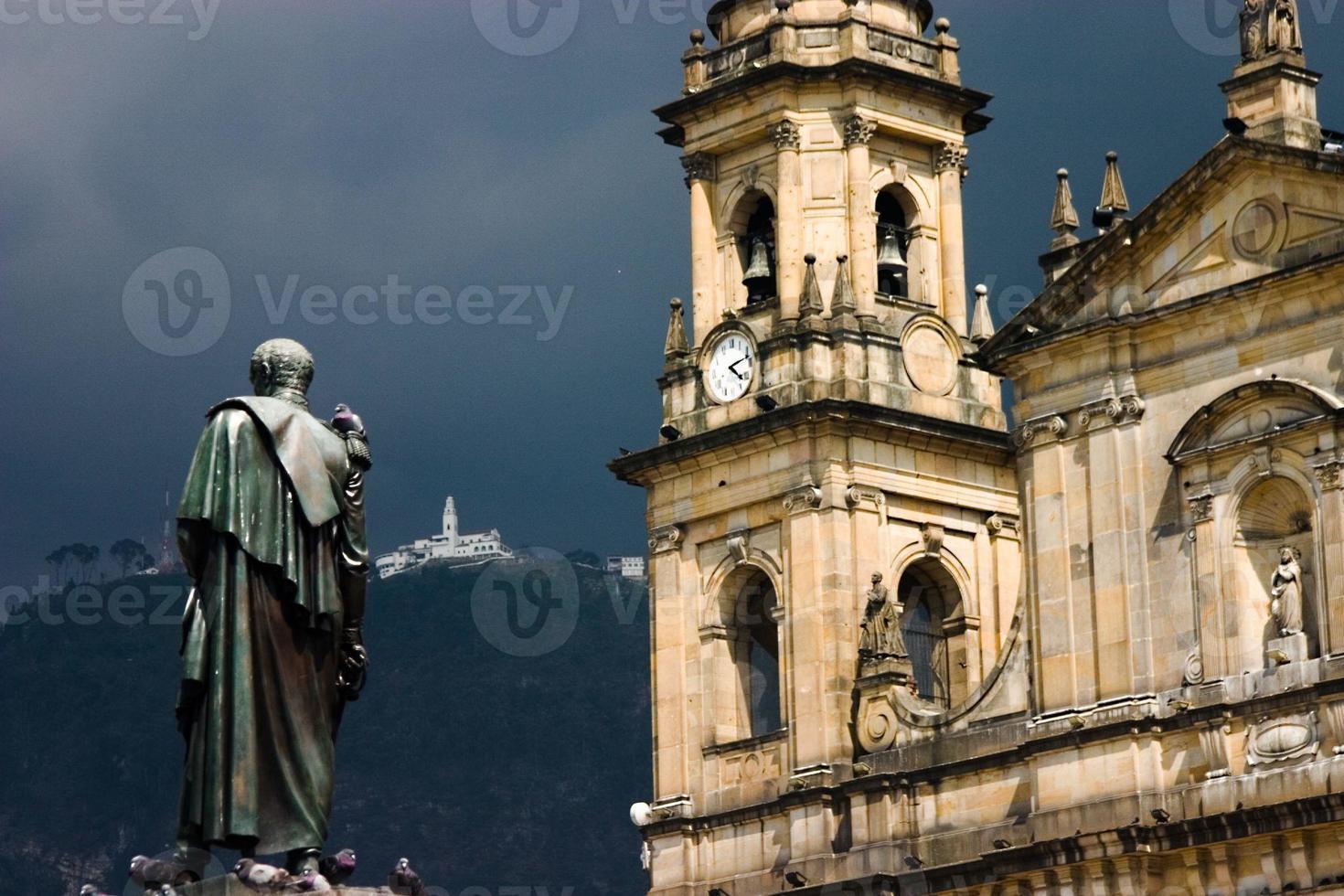 bolivar, cattedrale e monserrate foto