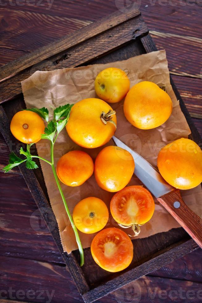 pomodoro giallo foto