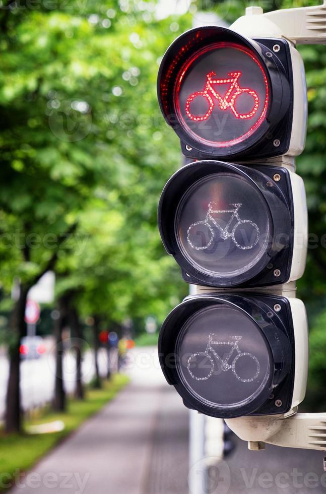 semaforo per biciclette foto
