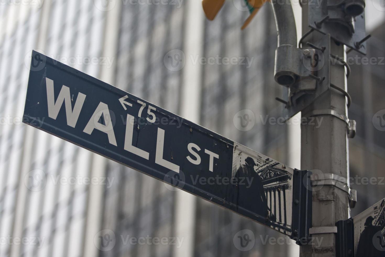 stati uniti d'america - new york - new york, cartello stradale foto