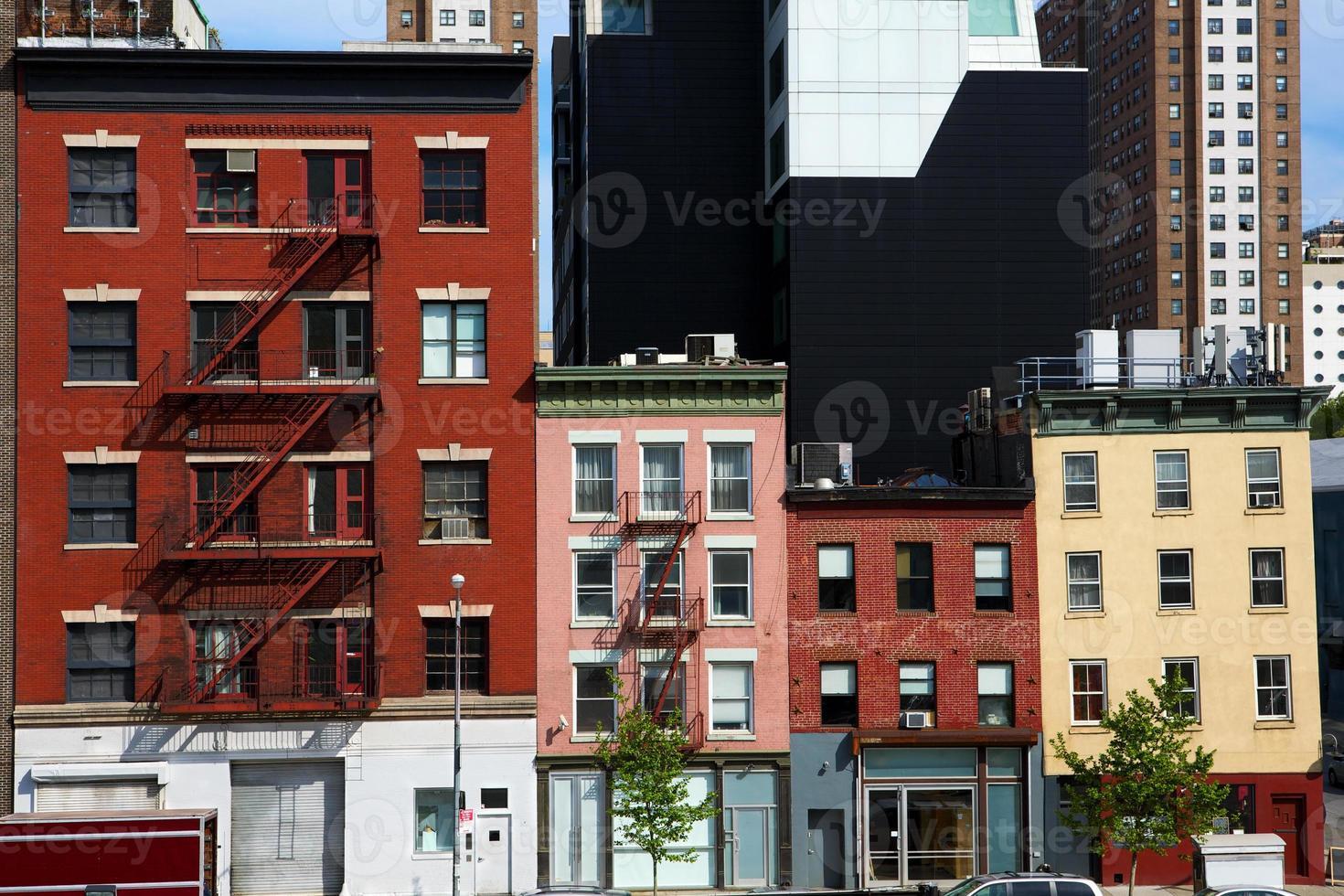 architettura di new york city foto