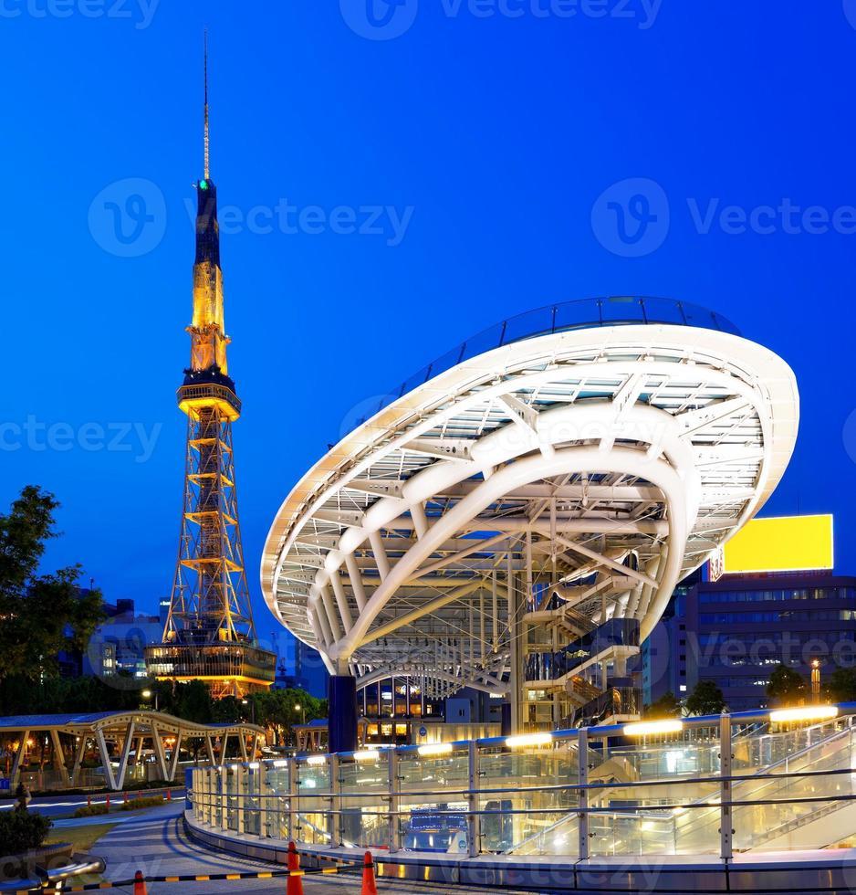 torre della televisione di Nagoya foto