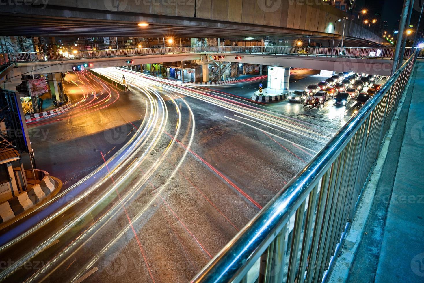 traffico di bangkok foto