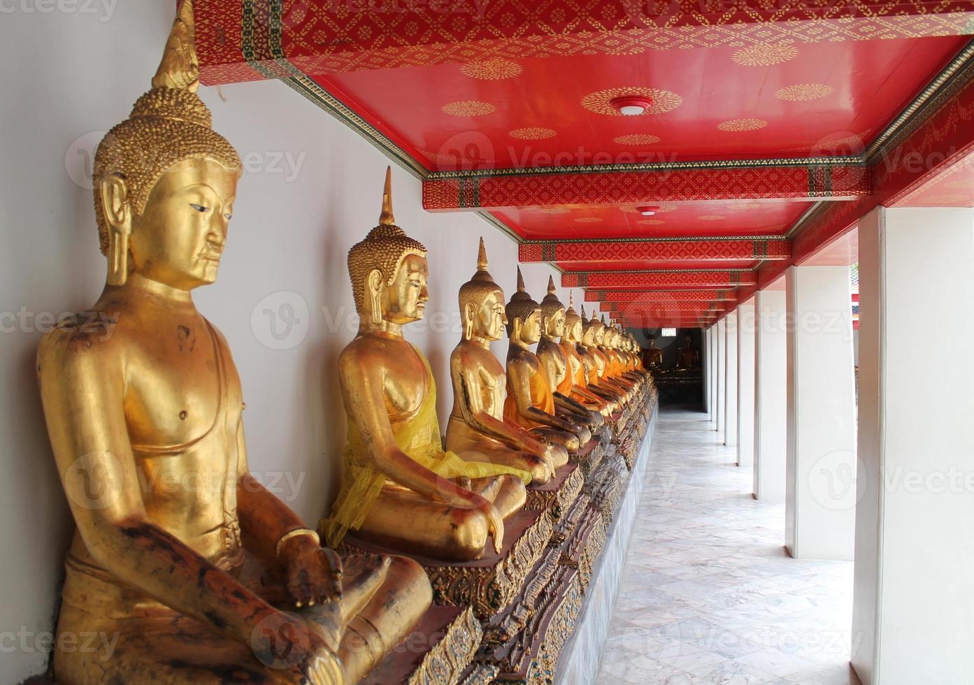 Buddha a Bangkok foto