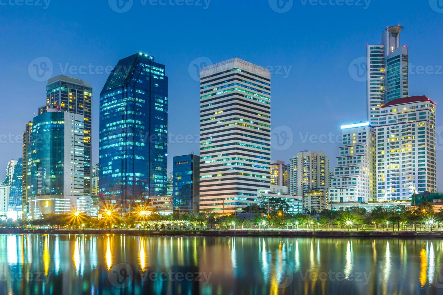 lungomare città di bangkok lungomare foto