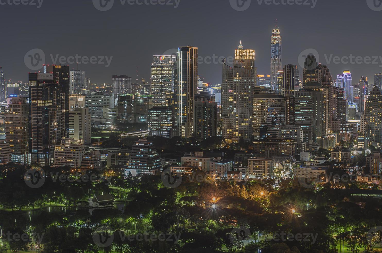 Bangkok crepuscolo foto