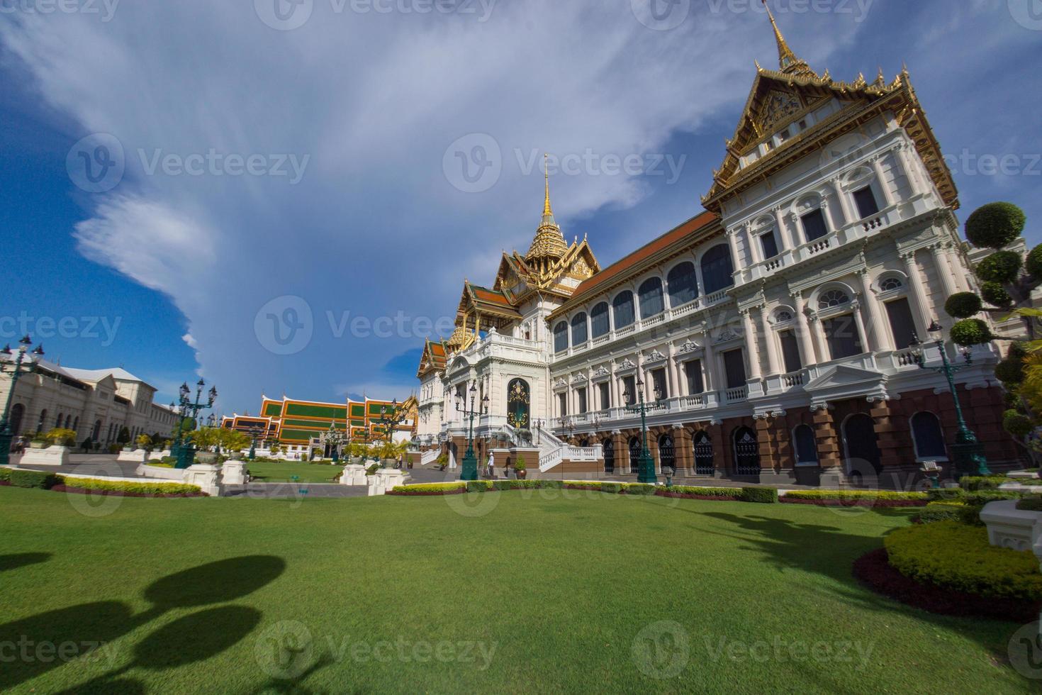 il grande palazzo, bangkok, thailandia foto