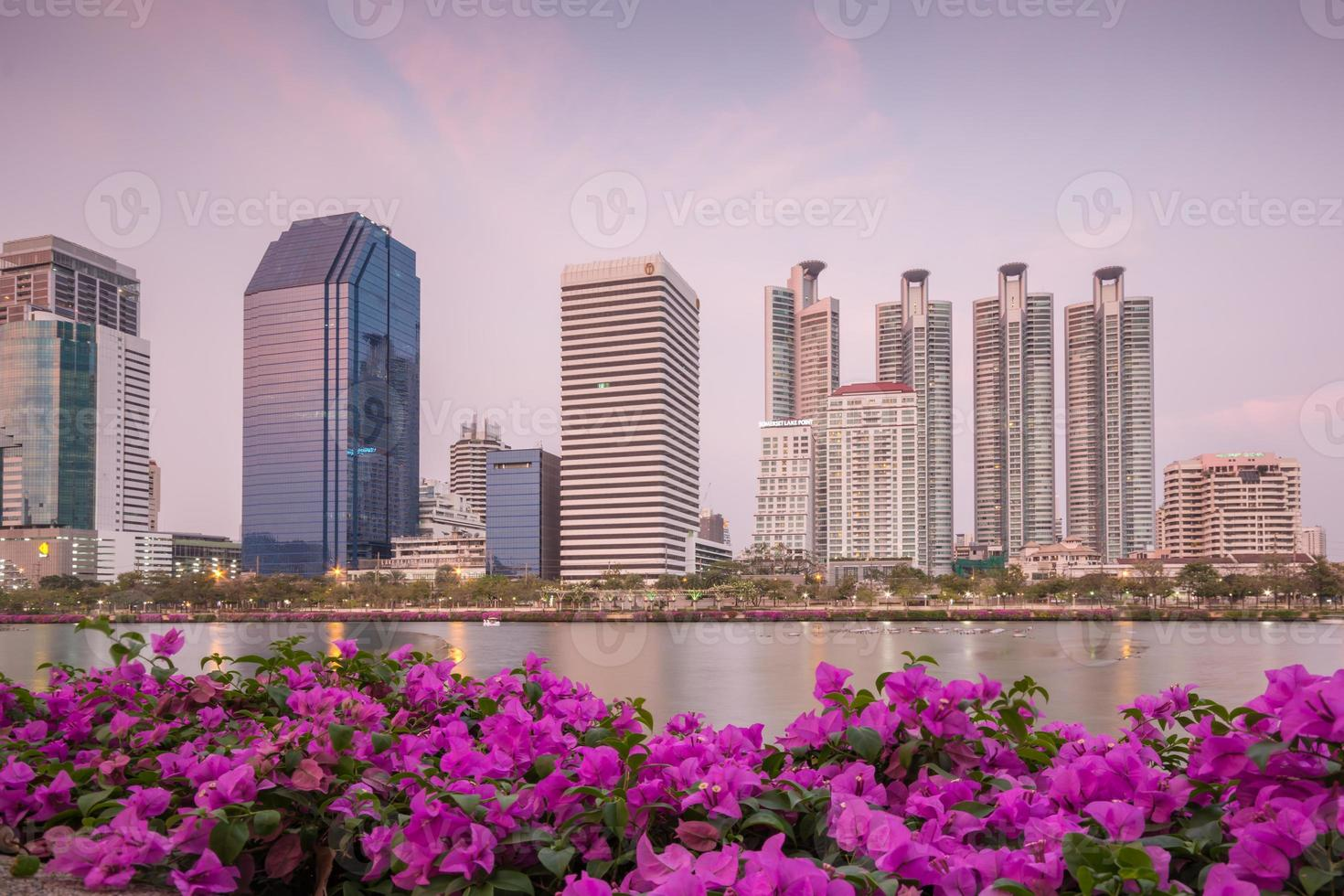grattacieli di Bangkok foto