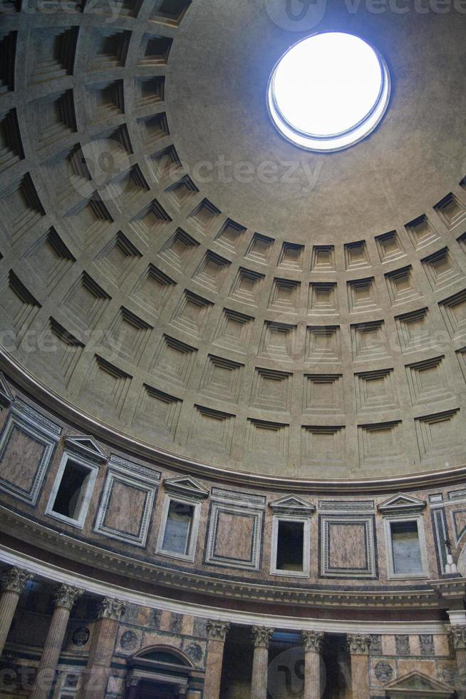 italia - roma, il pantheon foto