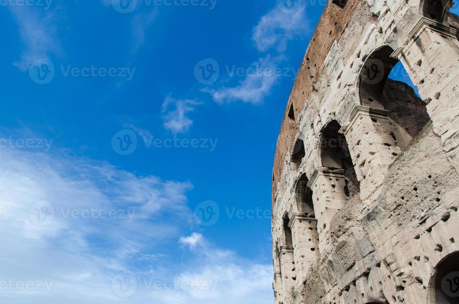 colosseo, roma, italia foto