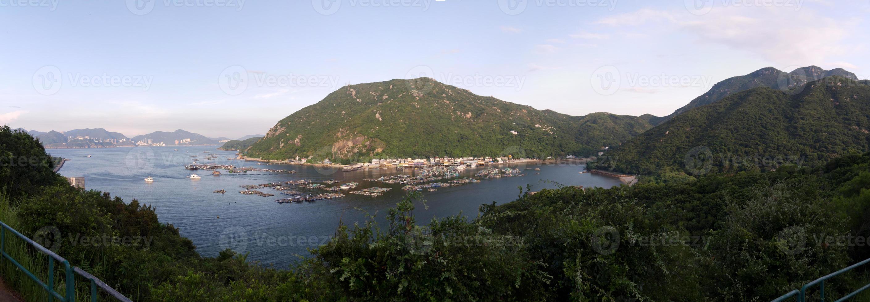 panorama dell'isola di lamma foto