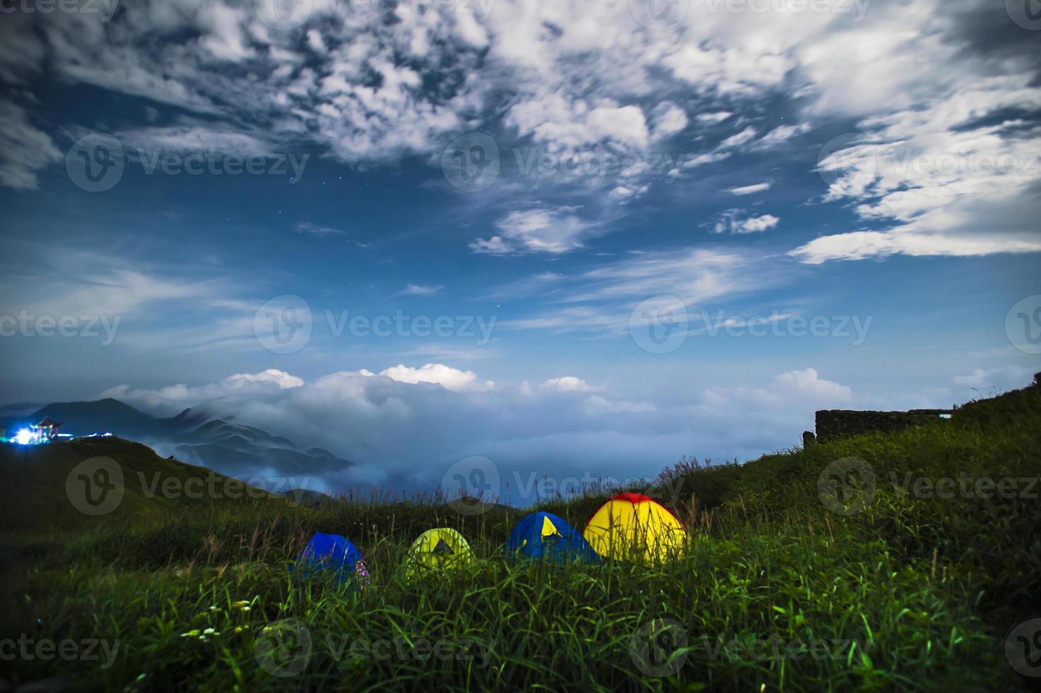 campeggio, tenda, montagna, escursioni, foto