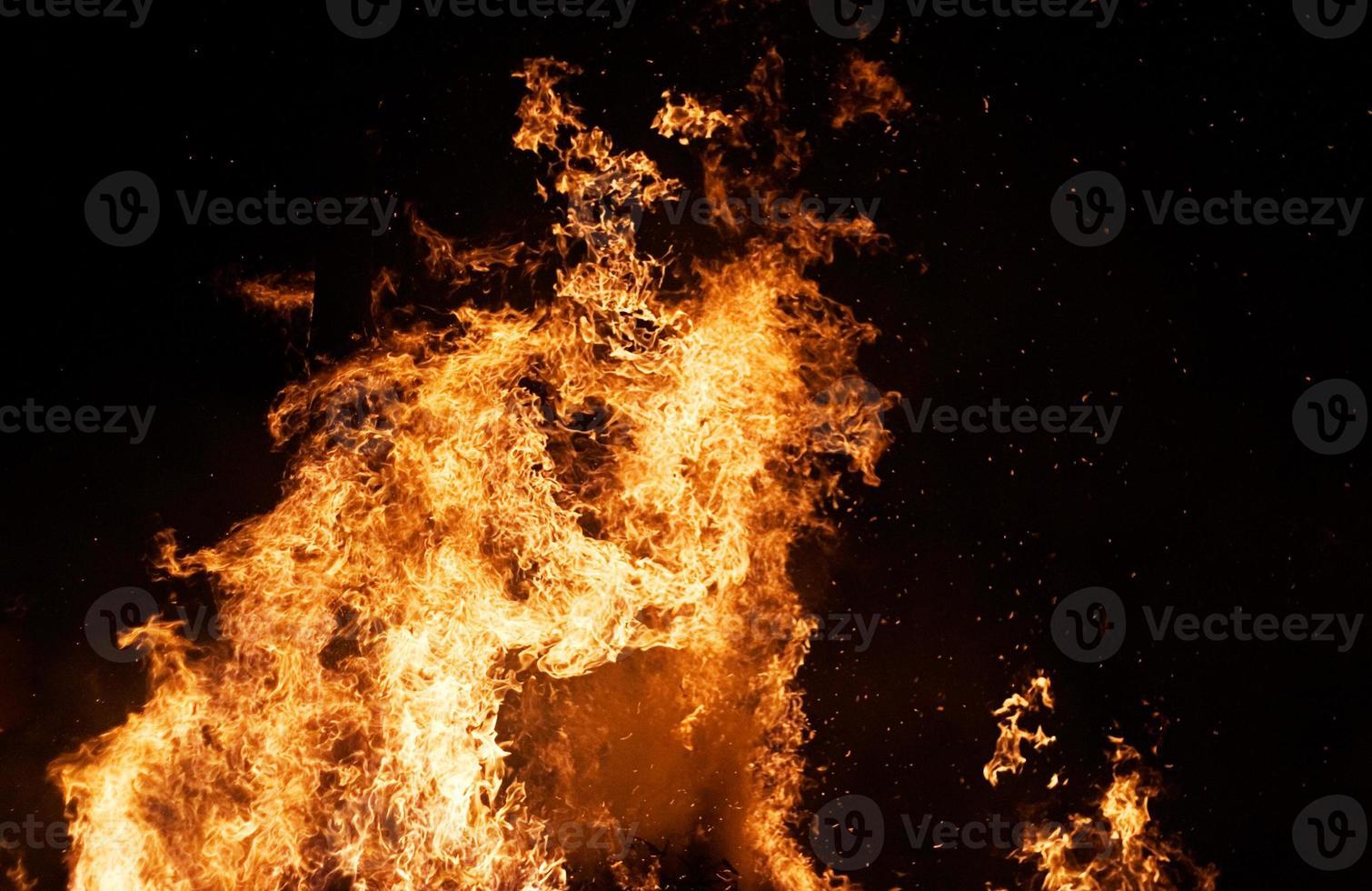 colonna di fuoco foto