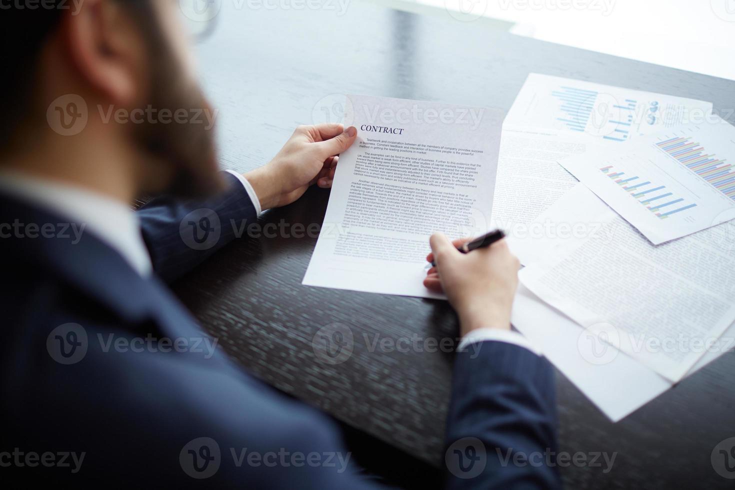 carta per firma foto