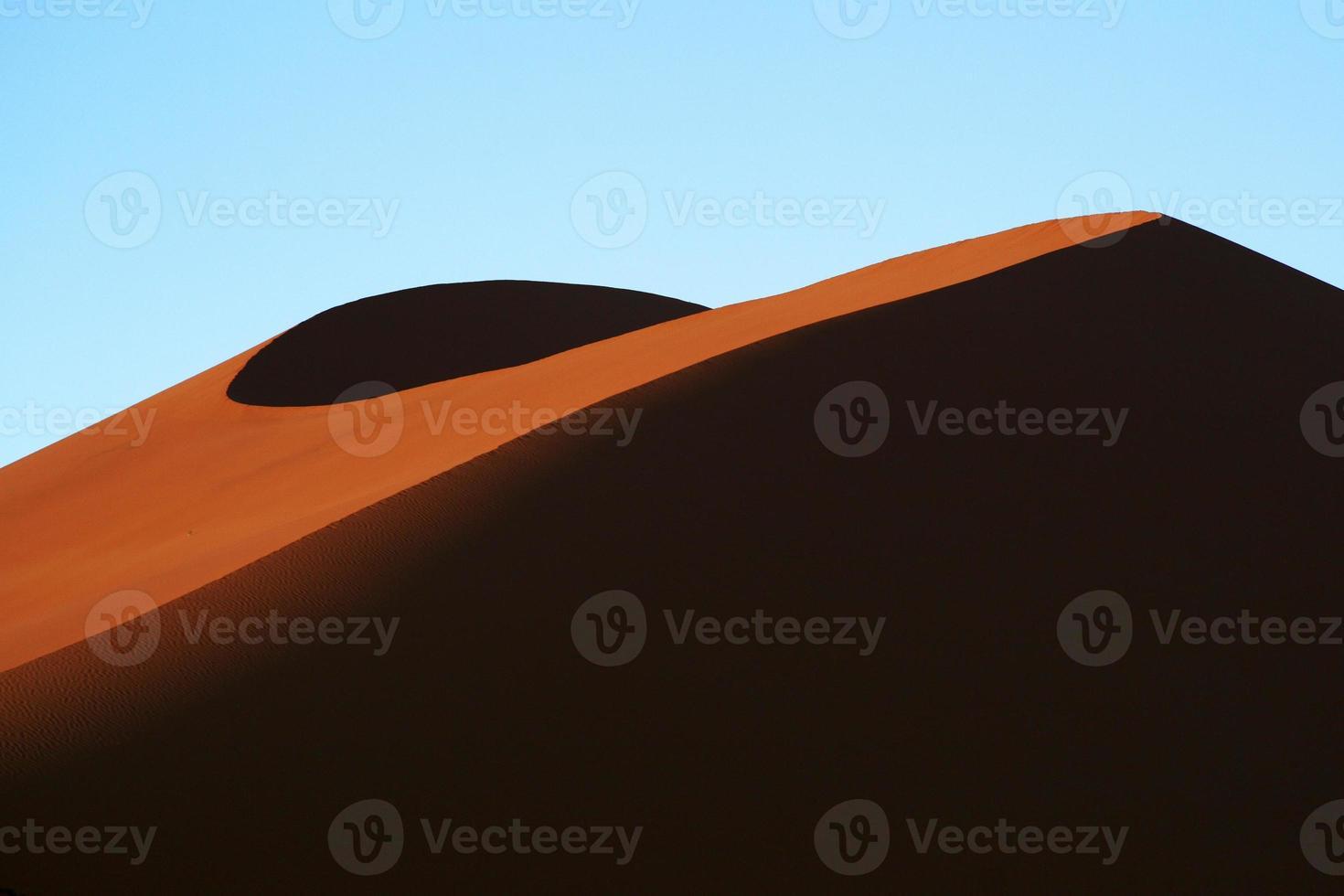 contrasti di dune di sabbia foto