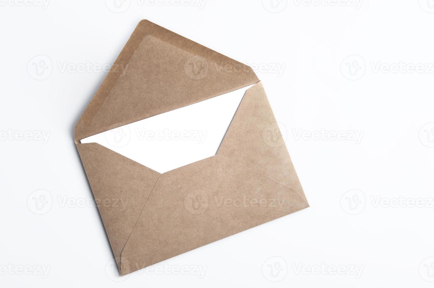 busta e lettera foto