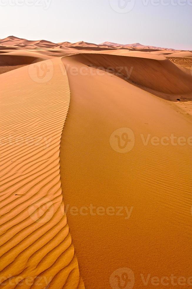 dune di sahara foto