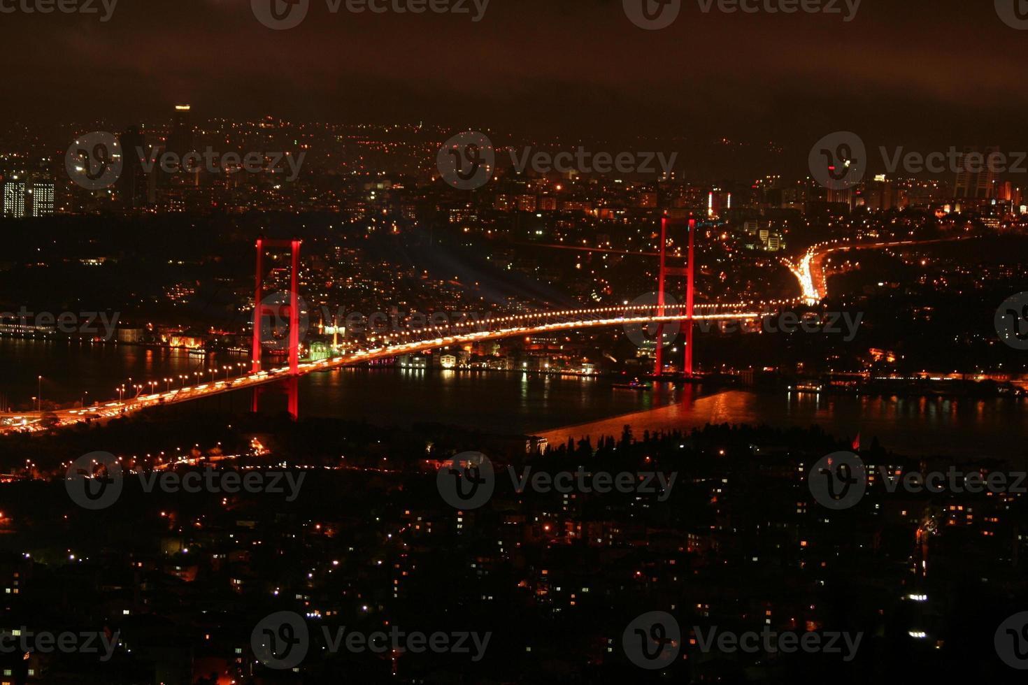 luci della città foto
