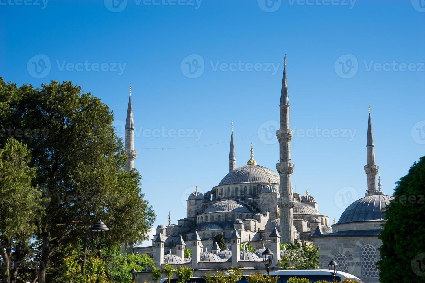 moschea blu sultano ahm, turchia di istanbul foto