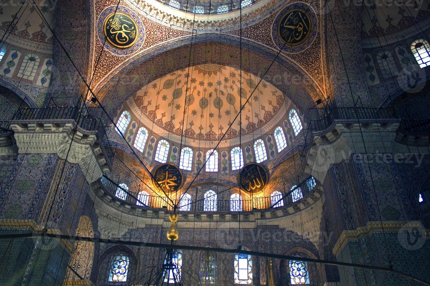 cupola della nuova moschea di istanbul foto