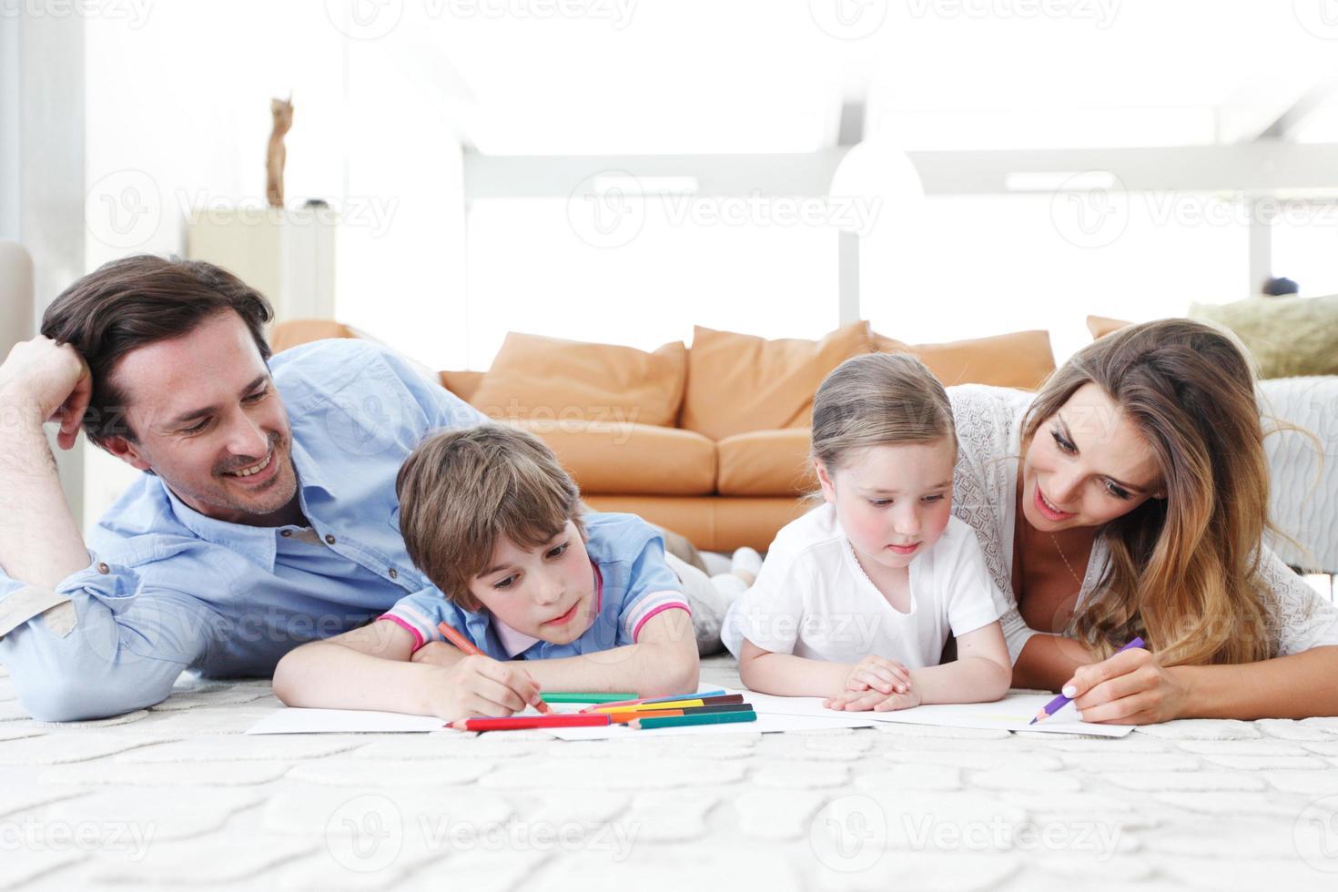 foto di disegno di famiglia