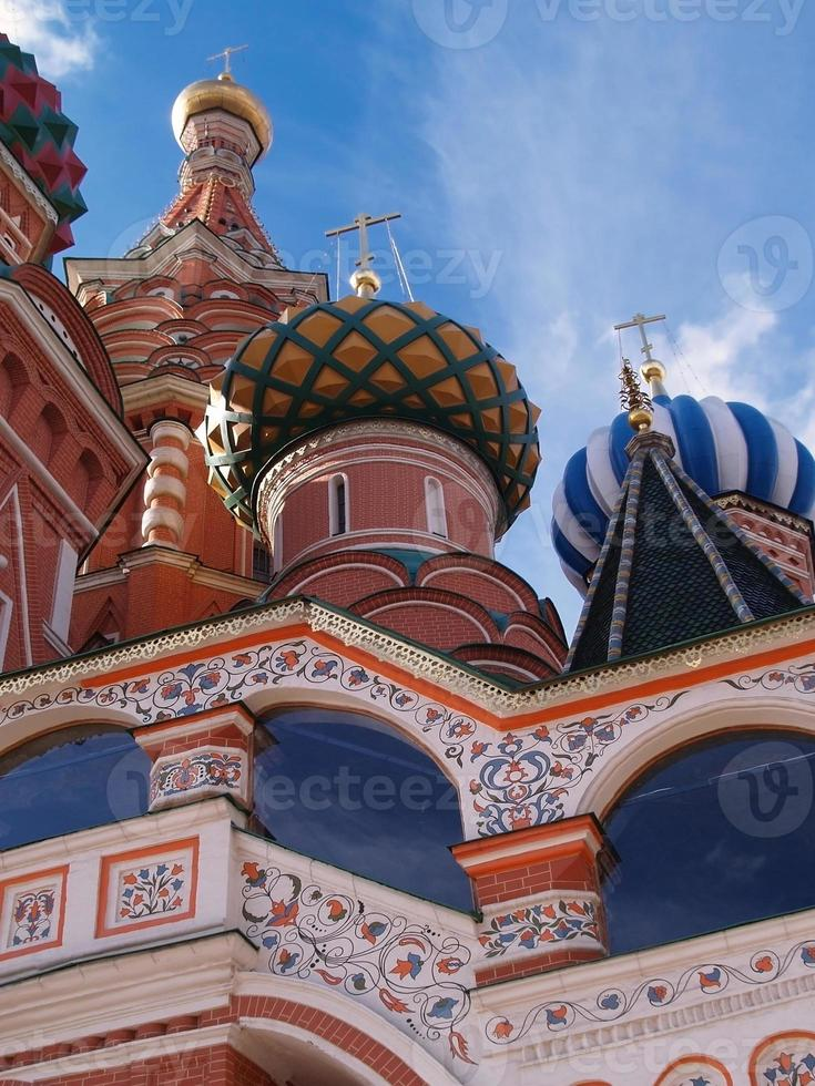 piazza rossa mosca, russia foto