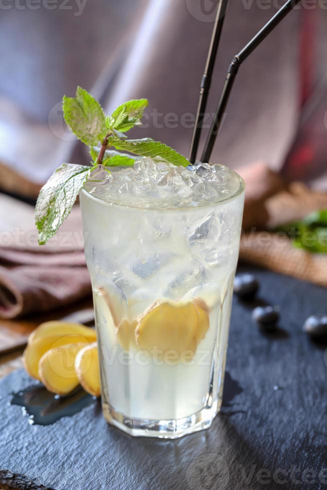 cocktail con mulo di zenzero di Mosca foto